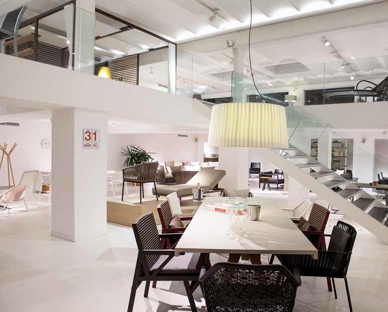 Kettal showroom barcelona noticias de lujo el lujo con for Kettal barcelona