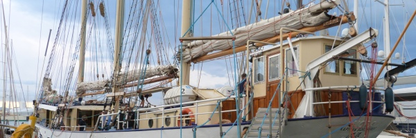 Barco escuela Kapitan Borchardt