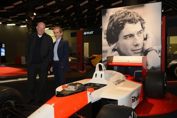 Tag Heuer JC Biver & Alain Prost & Senna's F1