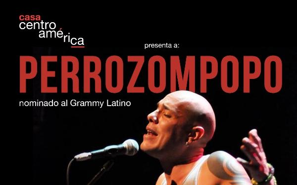 Cartel Perrozompopo Barcelona
