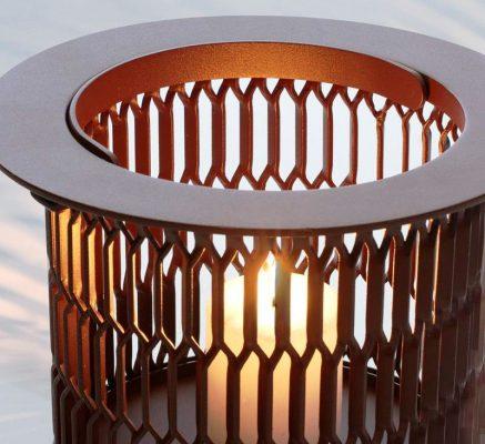 Candleholders Kettal Mesh by Patricia Urquiola