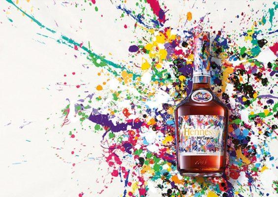 botella cognac hennessy jonone