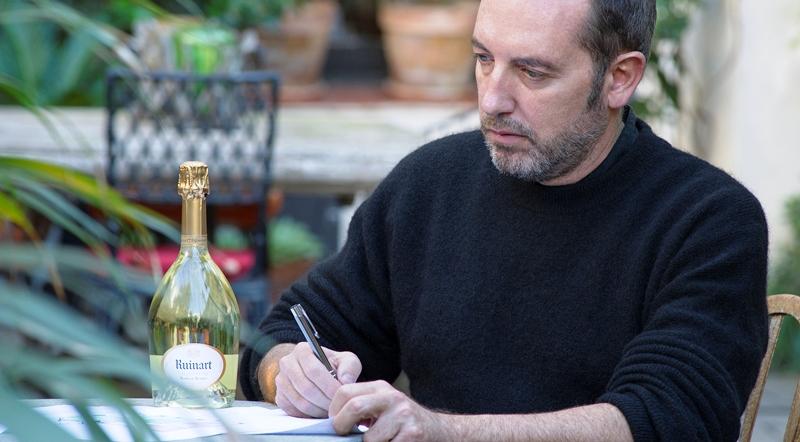 Lazaro Rosa Violan y Ruinart Champagne