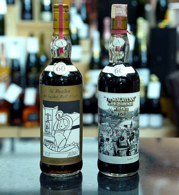Botellas vendidas The Macallan 1926