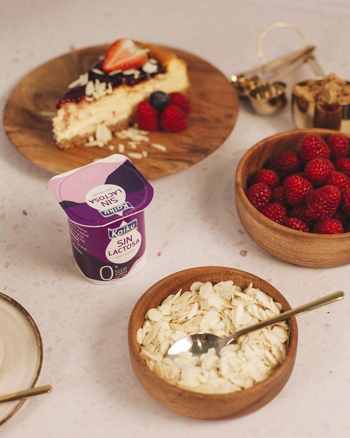 Yogurt Kaiku sin lactosa