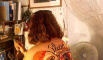 Cazadoras pintadas Plexxo Art