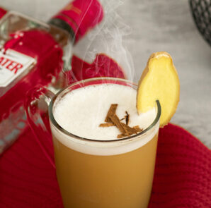 Beefeater hot gin Gin-ger apple