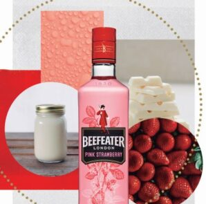 Beefeater hot gin Pink Indulgence