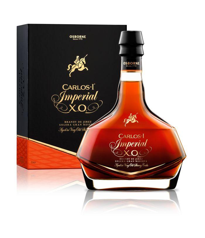 Brandy Carlos I Imperial XO estuche
